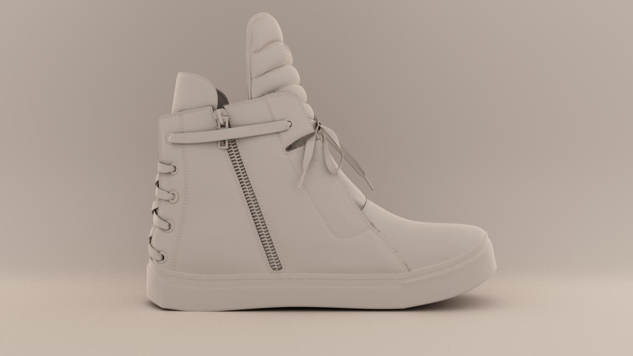 Shoe_clayrender