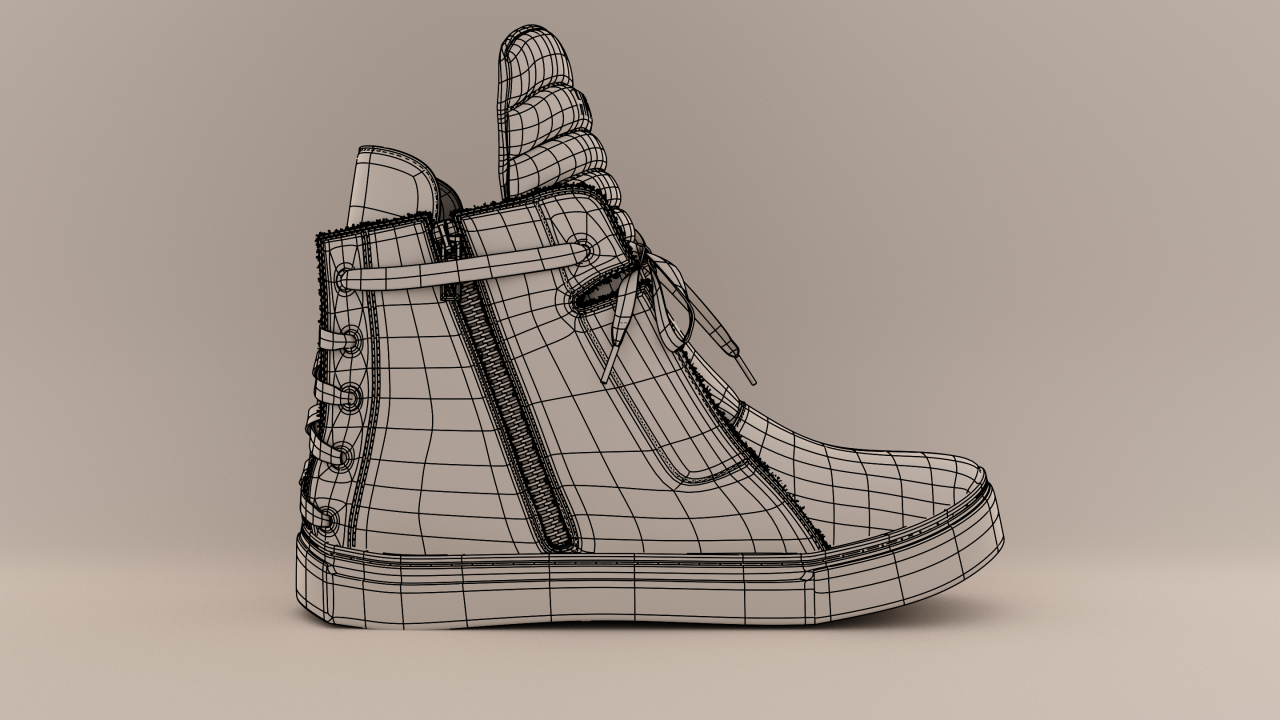 Shoe_wireframe